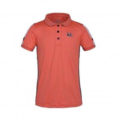 Foto van Kingsland Vera Junior Polo Shirt Koraal