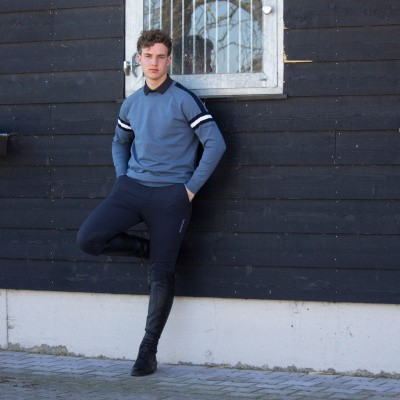 Foto van Kingsland Andrei Knitted Sweater Heren, Blauw China