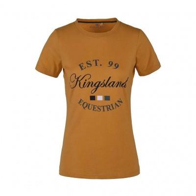 Foto van Kingsland Lagda Dames T-Shirt, Geel Narcissus