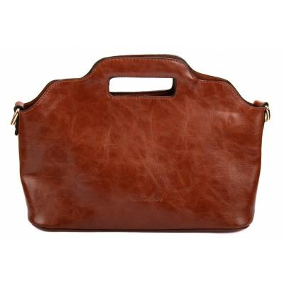 Camelkleurige handtas