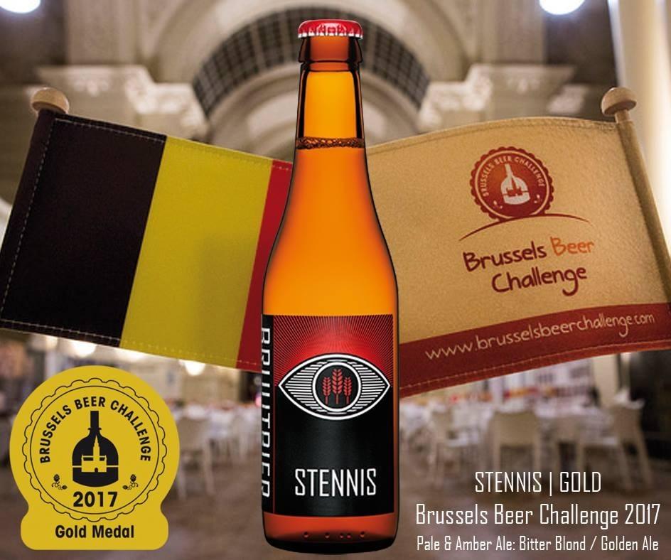 stennis wint gouden medaille brussels beer challenge