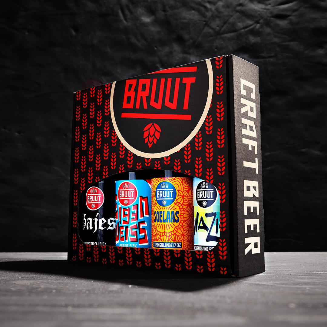 Fourpack speciaalbieren - biercadeau - Digi-Borrel Box!