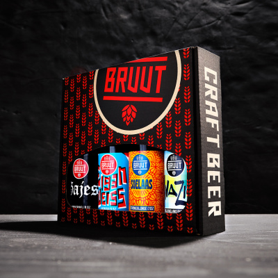 Foto van Fourpack speciaalbieren - biercadeau - Digi-Borrel Box!