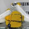 Afbeelding van Anderson's Textile belt Yellow