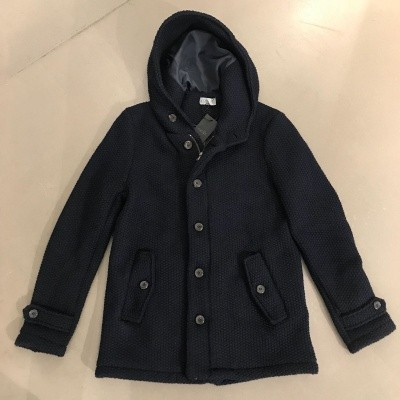 Kris K Parka Wool Navy
