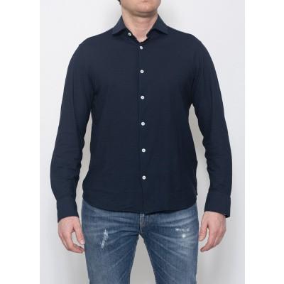 Foto van Piacenza Cashmere Shirt Blue