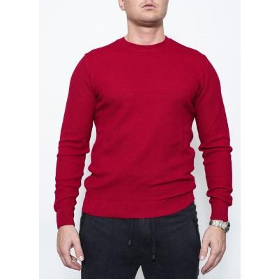 Circolo Paricollo Knit Red