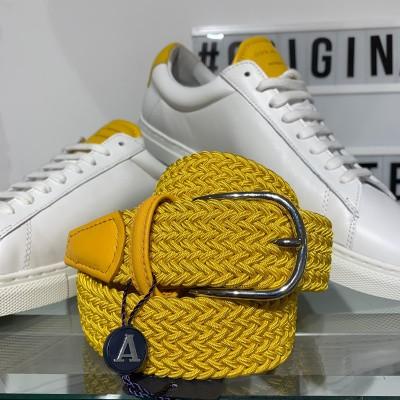 Foto van Anderson's Textile belt Yellow