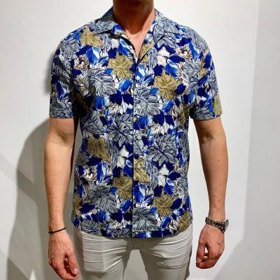 Foto van Brian Dales Bohemian Blue Shirt
