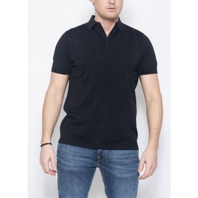Aspesi Polo Jersey Black