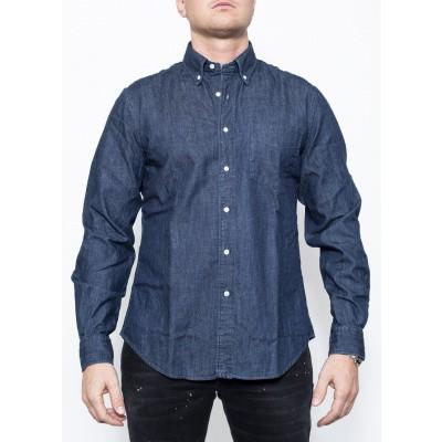 ASPESI Deep Jeans Shirt