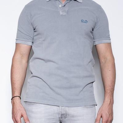 Lion Brand Poloshirt Natural Grey