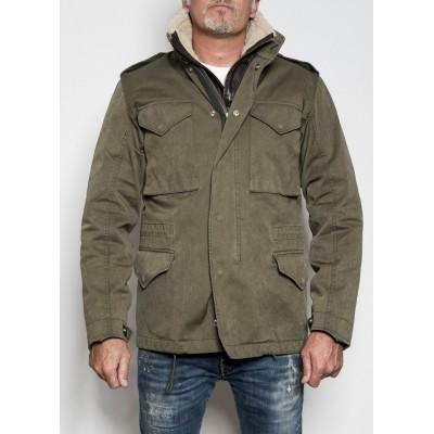 Ten C Field Jacket Green