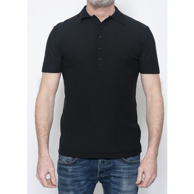 Hannes Roether Polo Black