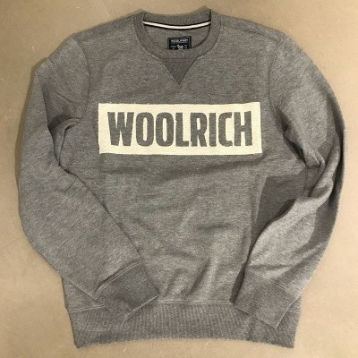 Foto van Woolrich Logo sweater grey