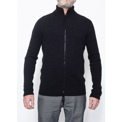 Hannes Roether Vest Black Shady