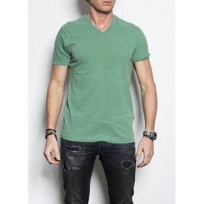 Kris K Scollo V T shirt Apple Green