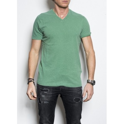 Foto van Kris K Scollo V T shirt Apple Green
