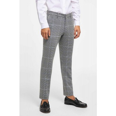 Foto van Drykorn Sight Trousers Grey/Blue