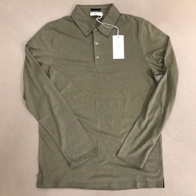 Foto van Closed Jersey polo L/S Green