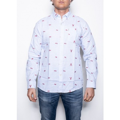 Barbour Lobster Shirt Admiral