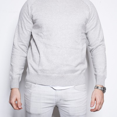 Aspesi Maglieria Crew knit Grey