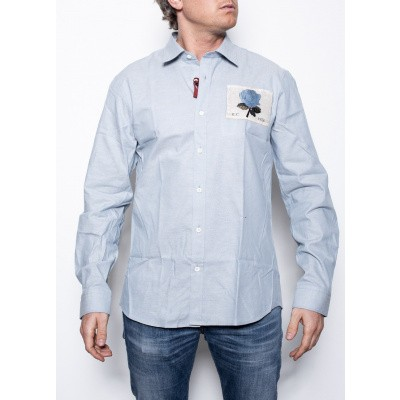 Kent & Curwen Regular Shirt Blue