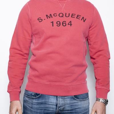 Barbour S.McQueen Sweat Pink