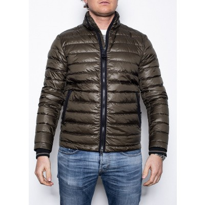 Woolrich Bering Down Jacket Olive