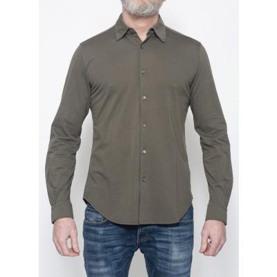 Foto van Aspesi Jersey Shirt Dark Olive