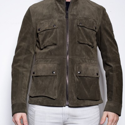 Foto van Belstaff New Brad Green Smoke