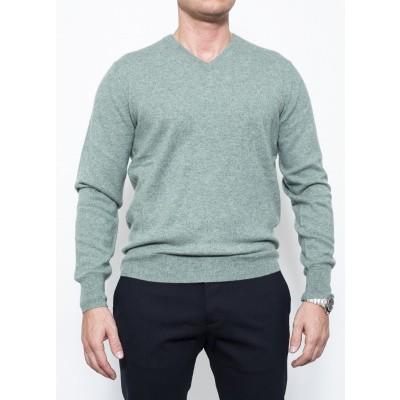 ASPESI V Knit Cashmere Green
