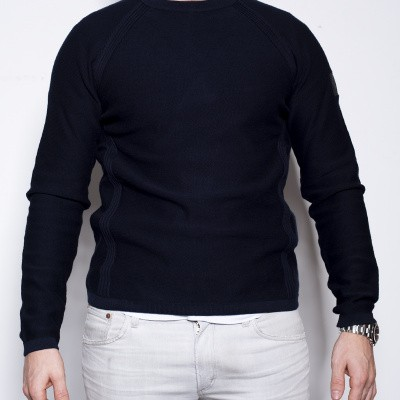 Belstaff Frances Knit Pull Navy
