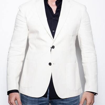 Foto van Brian Dales Miami White Jacket