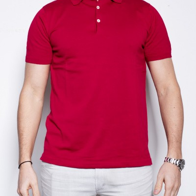 Foto van Aspesi Polo Knitted Rosso / Red