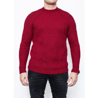Circolo Paricollo Lana Wool Red