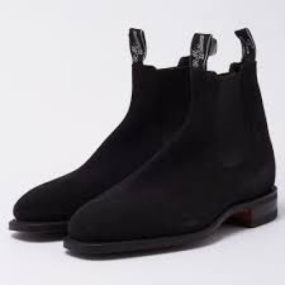 Foto van R.M.Williams Craftsman Suede Black
