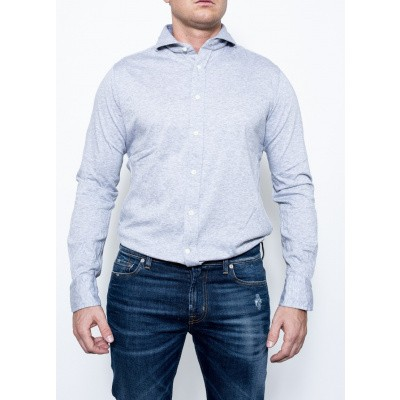 Bolzonella Can Carre Punta Shirt Grey