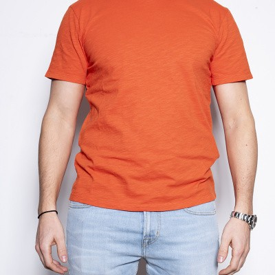 7 For All Mankind Slub Orange