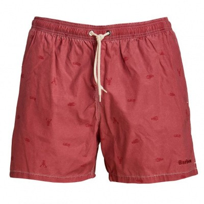 Barbour Lobster Swim Wear Red