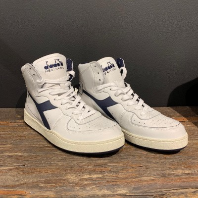 Diadora Mi Basket USED Navy