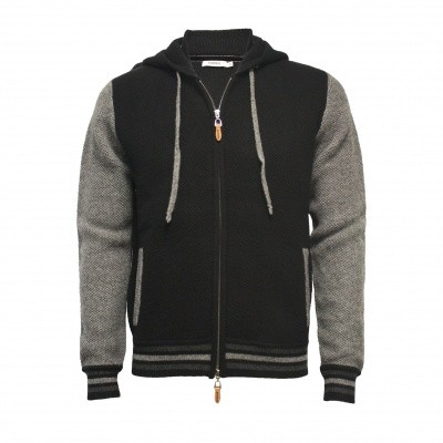 Hommard Hooded zipper Bomber