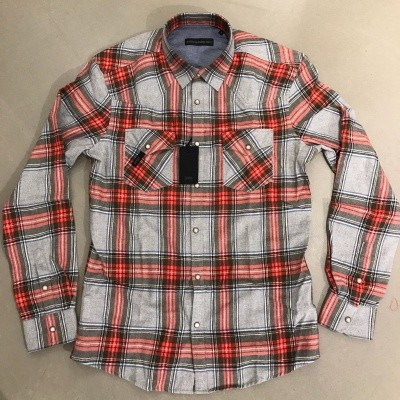 Foto van Drykorn Samu checked shirt Red