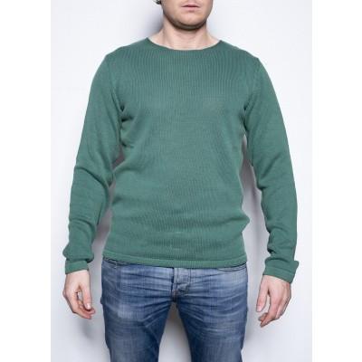 Kris K Flat Neck Knit Green