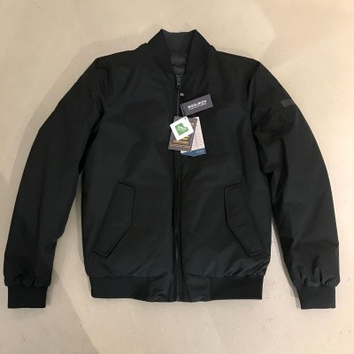Woolrich Camou Rev Bomber Black