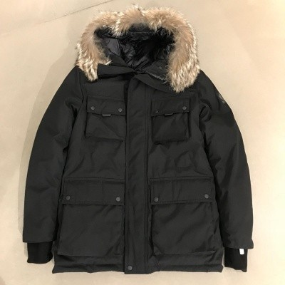 Belstaff Expedition Parka Black