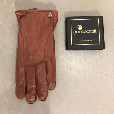 Foto van Goosecraft Glove Cognac