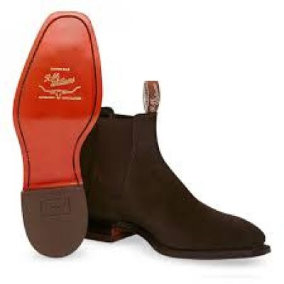 Foto van R.M.Williams Craftsman Suede Choc