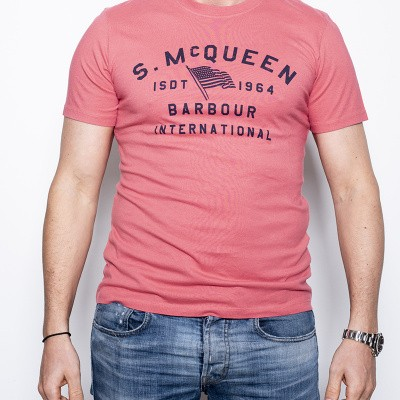 Barbour S.McQueen Boon T Red
