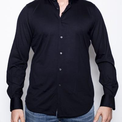 Foto van Windsor Laze shirt Wool Navy